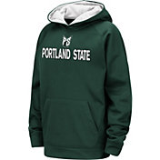 Colosseum Youth Portland State Vikings Green Pullover Hoodie