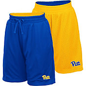 Colosseum Youth Pitt Panthers Blue/Gold Field Trip Reversible Shorts