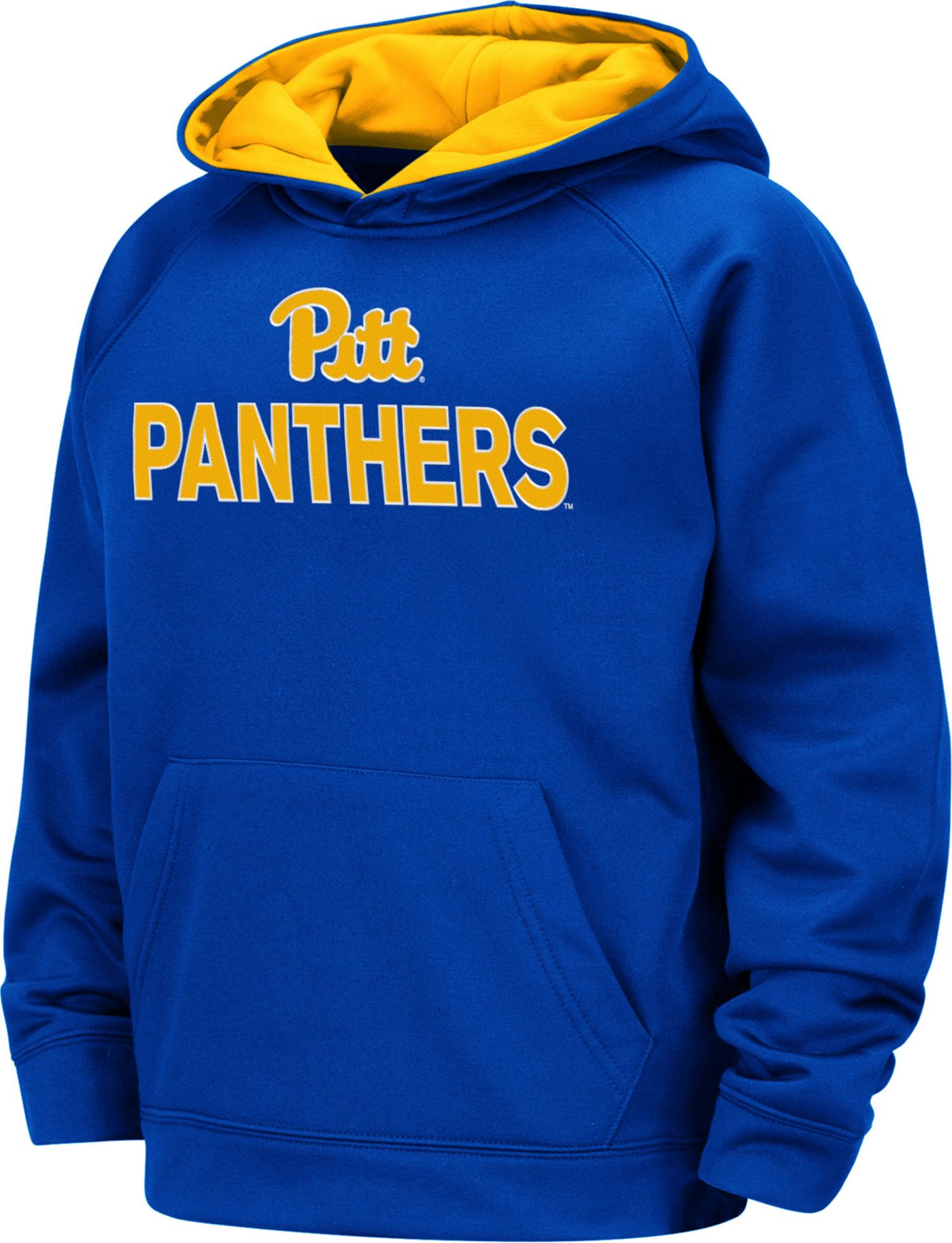 Colosseum Boys' Pitt Panthers Blue Pullover Hoodie