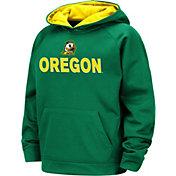 Colosseum Boys' Oregon Ducks Green Pullover Hoodie