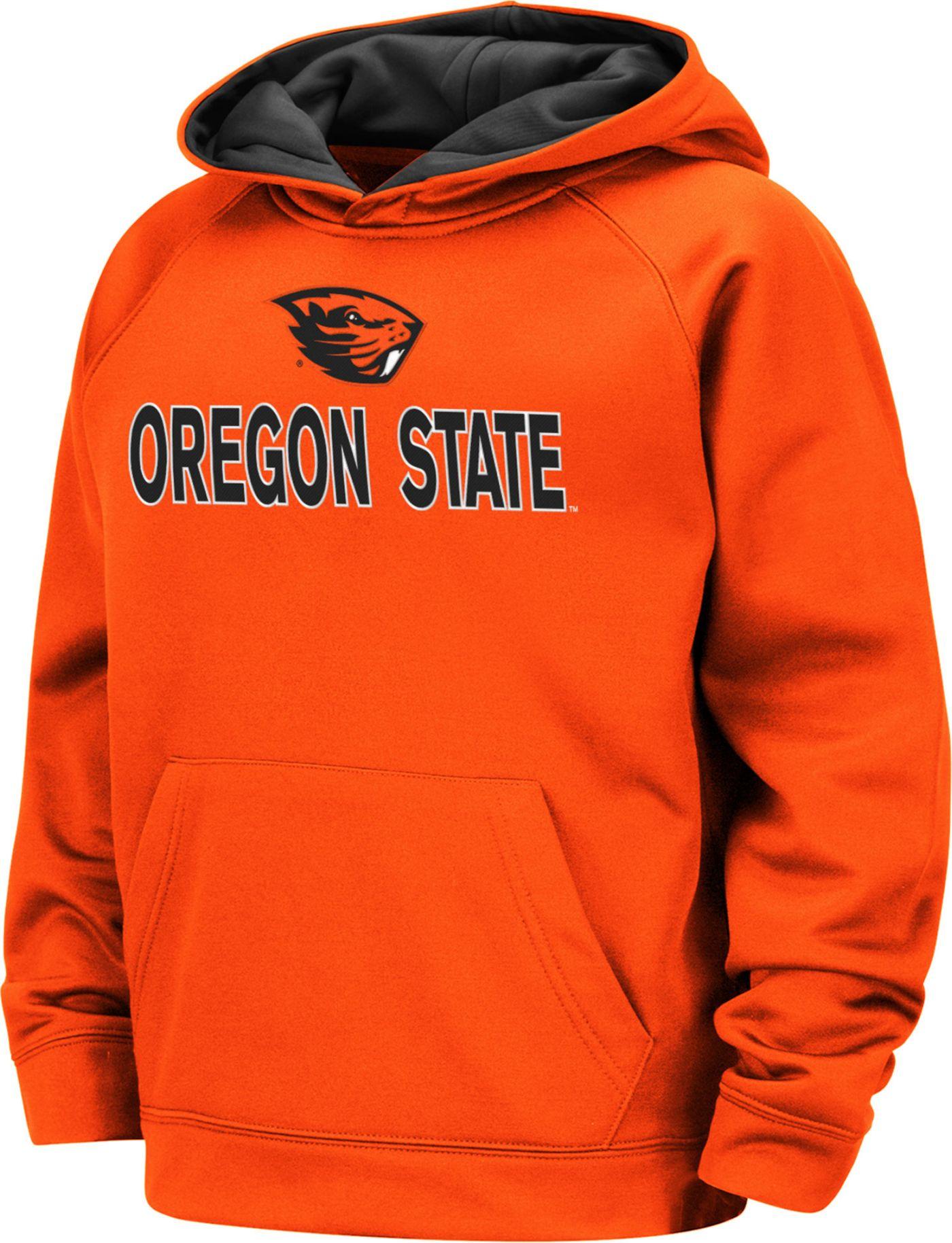 Colosseum Boys' Oregon State Beavers Orange Pullover Hoodie