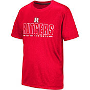 Colosseum Youth Rutgers Scarlet Knights Scarlet Geoweb T-Shirt