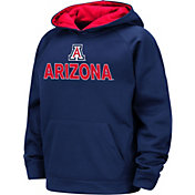 Colosseum Boys' Arizona Wildcats Navy Pullover Hoodie