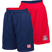 Colosseum Youth Arizona Wildcats Navy/Red Field Trip Reversible Shorts