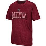 Colosseum Youth South Carolina Gamecocks Garnet Geoweb T-Shirt