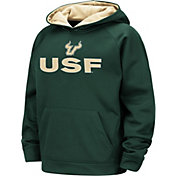 Colosseum Boys' South Florida Bulls Green Pullover Hoodie