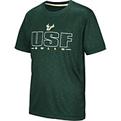 Colosseum Youth South Florida Bulls Green Geoweb T-Shirt