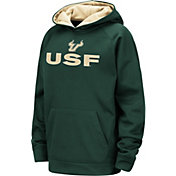 Colosseum Youth South Florida Bulls Green Pullover Hoodie