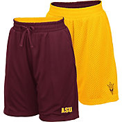 Colosseum Youth Arizona State Sun Devils Maroon/Gold Field Trip Reversible Shorts