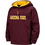 Colosseum Boys' Arizona State Sun Devils Maroon Pullover Hoodie