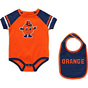 Colosseum Infant Syracuse Orange Orange Warner 2-Piece Onesie Set