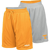 Colosseum Youth Tennessee Volunteers Tennessee Orange/Grey Field Trip Reversible Shorts