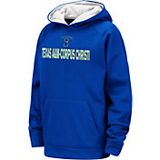 Colosseum Youth Texas A&M -Corpus Christi Islanders Blue Pullover Hoodie