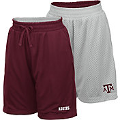 Colosseum Youth Texas A&M Aggies Maroon/Grey Field Trip Reversible Shorts