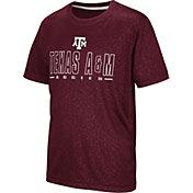 Colosseum Youth Texas A&M Aggies Maroon Geoweb T-Shirt
