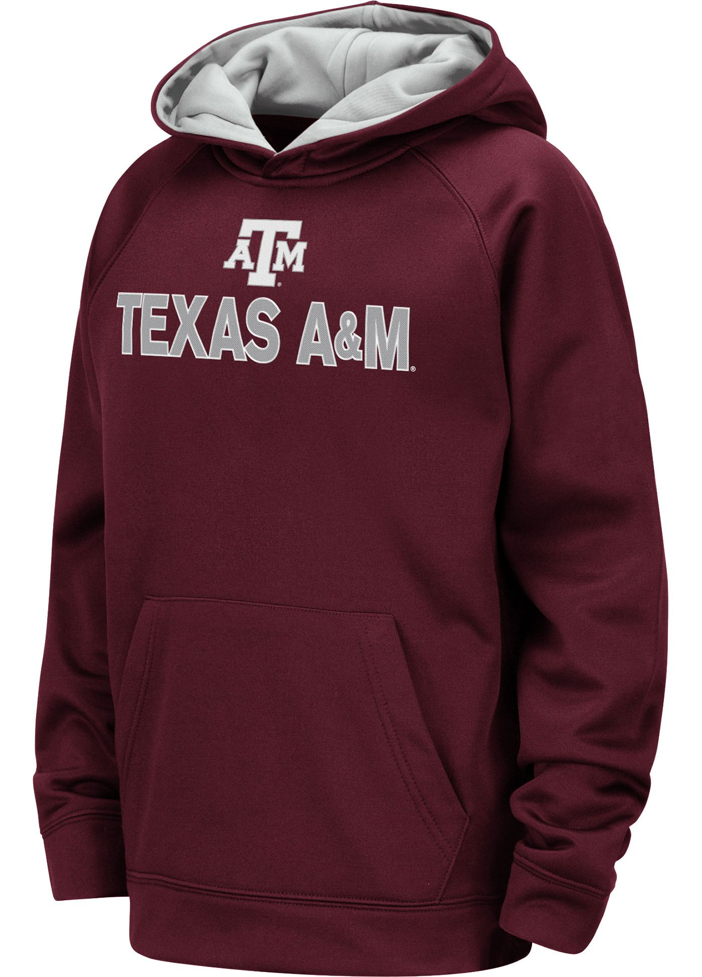 Colosseum Youth Texas A&M Aggies Maroon Pullover Hoodie