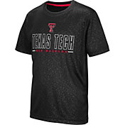 Colosseum Youth Texas Tech Red Raiders Geoweb Black T-Shirt
