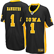 Colosseum Youth Iowa Hawkeyes Max Power Football Black Jersey