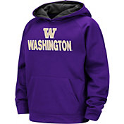 Colosseum Boys' Washington Huskies Purple Pullover Hoodie