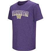 Colosseum Youth Washington Huskies Purple Dual Blend T-Shirt