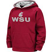 Colosseum Boys' Washington State Cougars Crimson Pullover Hoodie