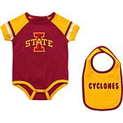 Colosseum Infant Iowa State Cyclones Cardinal Warner 2-Piece Onesie Set