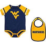 Colosseum Infant West Virginia Mountaineers Blue Warner 2-Piece Onesie Set