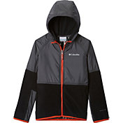 Columbia Boys' Basin Butte Fleece Full Zip Jacket