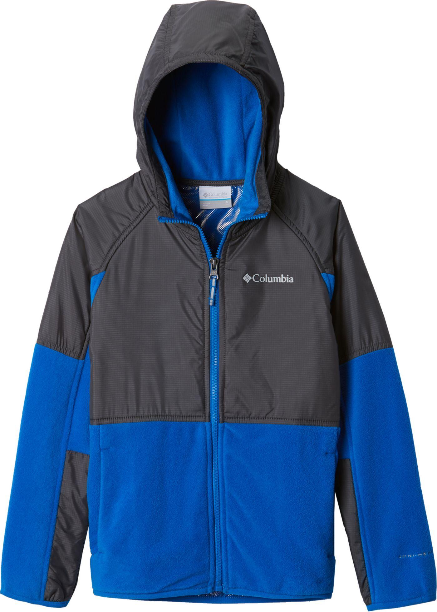 Columbia Boys' Basin Butte Fleece Full Zip Jacket