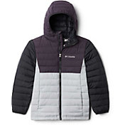 Columbia Boys' Powder Lite Hooded Jacket