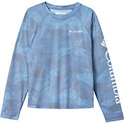 Columbia Boys' Solar Chill Printed Long Sleeve Shirt