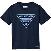 Columbia Boys' PFG Printed Logo Graphic T-Shirt
