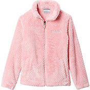 Columbia Girls' Fire Side Sherpa Full-Zip Fleece Jacket