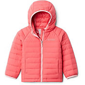 Columbia Girls' Powder Lite Hooded Jacket