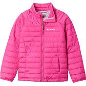 Columbia Girls' Powder Lite Hooded Jacket
