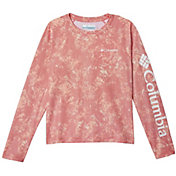 Columbia Girls' Solar Chill Printed Long Sleeve Shirt