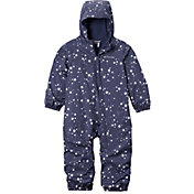 Columbia Infant and Toddler Girls' Critter Jitters Printed Rain Suit