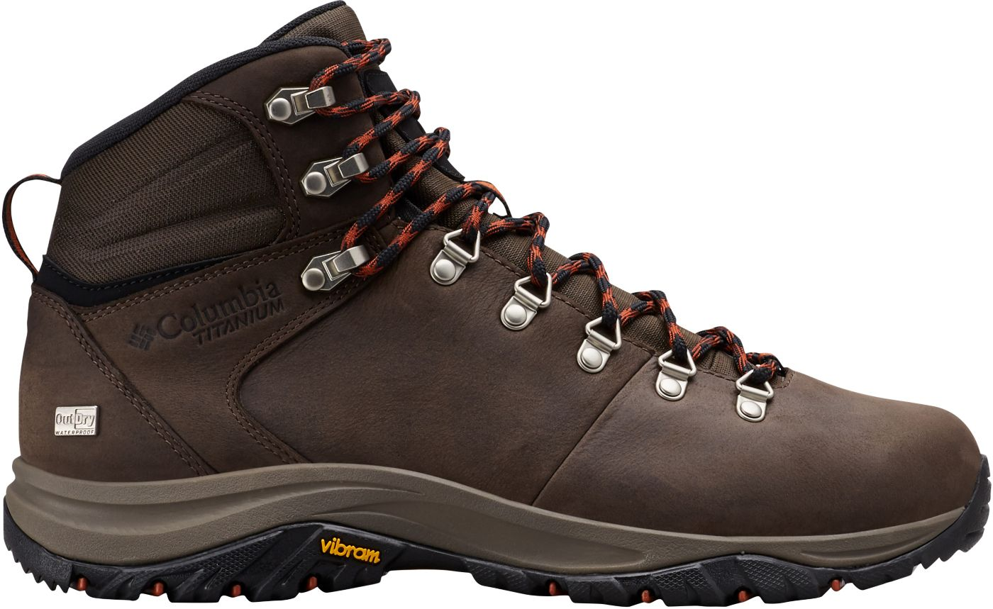 Columbia Men's 100MW Titanium OutDRY Waterproof Hiking Boots