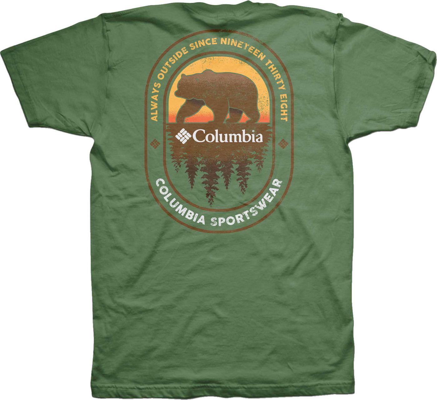 Columbia Men's Bear Back Hit Short Sleeve T-Shirt