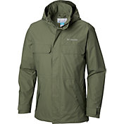 2d37fb58cc9 Product Image · Columbia Men's Dr. DownPour II Rain Jacket. Cypress · Black