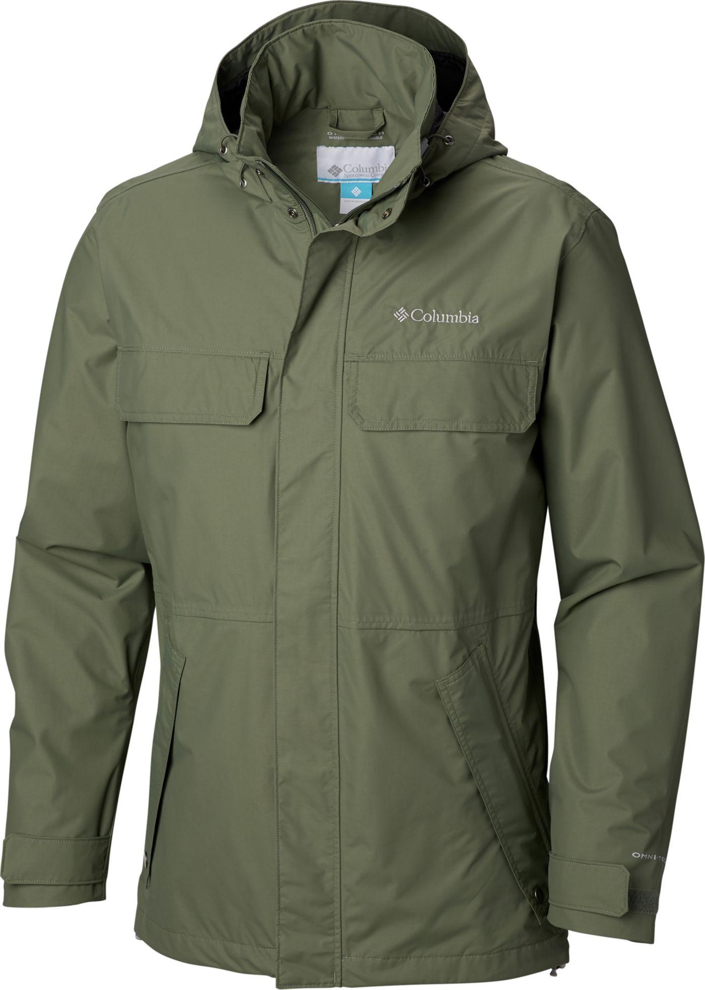 Columbia Men's Dr. DownPour II Rain Jacket