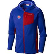 Columbia Men's Chicago Cubs Blue Jackson Creek Full-Zip Hoodie