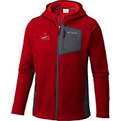 Columbia Men's St. Louis Cardinals Red Jackson Creek Full-Zip Hoodie