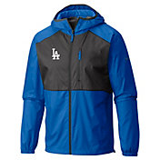 Columbia Men's Los Angeles Dodgers Dodger Blue Flash Forward Full-Zip Windbreaker Jacket