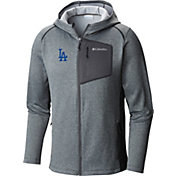 Columbia Men's Los Angeles Dodgers Dodger Blue Jackson Creek Full-Zip Hoodie