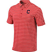 Columbia Men's Cleveland Indians Red Members Polo