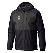 Columbia Men's Colorado Rockies Purple Flash Forward Full-Zip Windbreaker Jacket