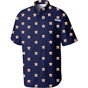 Columbia Men's Houston Astros Navy Tamiami Performance Shirt