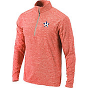 Columbia Men's Houston Astros Orange Power Fade Half-Zip Shirt