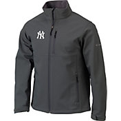 Columbia Men's New York Yankees Blue Ascender Full-Zip Softshell Jacket